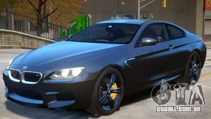 BMW M6 F13 V1 para GTA 4