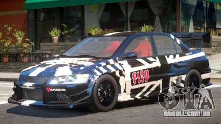 Mitsubishi Evo IX V1 PJ2 para GTA 4