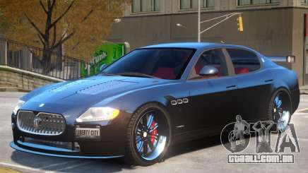 Maserati Quattroporte V2 para GTA 4