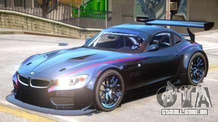BMW Z4 GT3 V1 PJ2 para GTA 4
