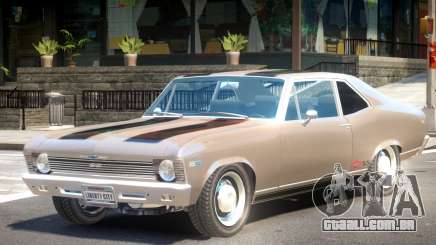 1969 Chevrolet Nova V1 PJ1 para GTA 4