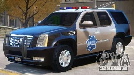Escalade Police para GTA 4