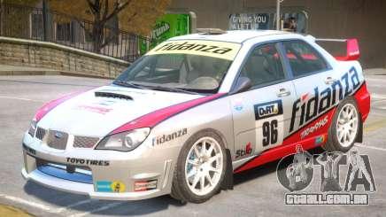 Subaru Impreza WRX V1 PJ3 para GTA 4