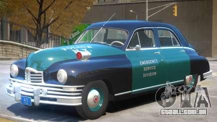 1948 Packard Eight V1 Police para GTA 4