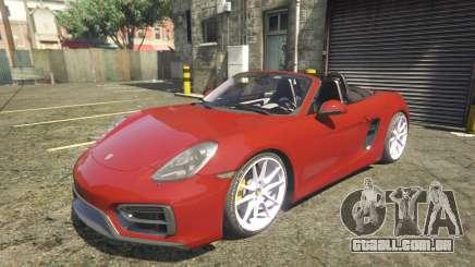 2016 Porsche Boxster GTS 1.0 para GTA 5
