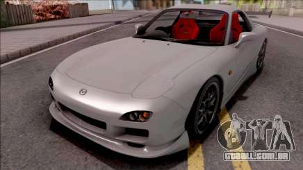 Mazda RX-7 Drift Grey para GTA San Andreas