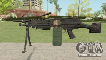 M249 SAW V2 para GTA San Andreas