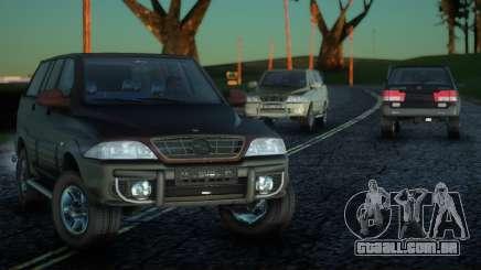 SsangYong Musso 3.2 para GTA San Andreas