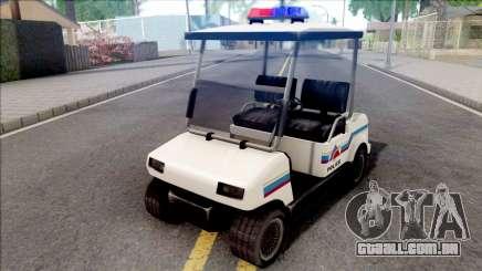 Nagasaki Caddy 1992 Hometown Police para GTA San Andreas