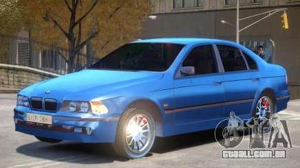 BMW E39 525i V1 para GTA 4