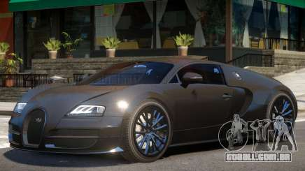 Bugatti Veyron Sport para GTA 4