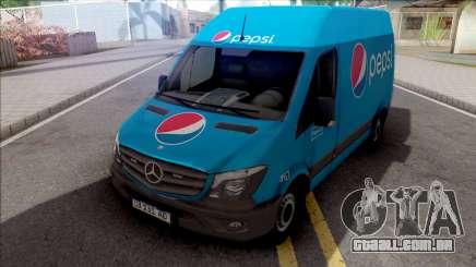 Mercedes-Benz Sprinter Van PepsiCO para GTA San Andreas