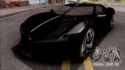 Bugatti La Voiture Noire 2019 Beta para GTA San Andreas