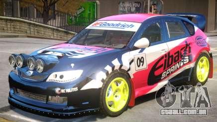 Subaru Impreza Drift V1 PJ4 para GTA 4