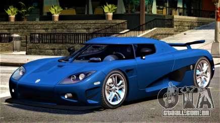 Koenigsegg CCXR V01 para GTA 4