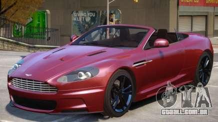 Aston Martin Volante V1.3 para GTA 4