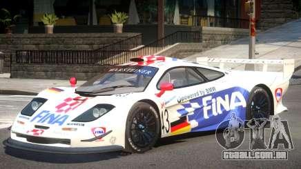 McLaren F1 V1.1 PJ2 para GTA 4
