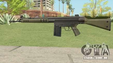 G3 Assault Rifle para GTA San Andreas