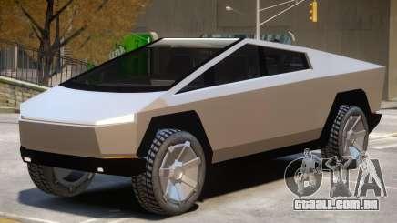 Tesla Cybertruck V1 para GTA 4