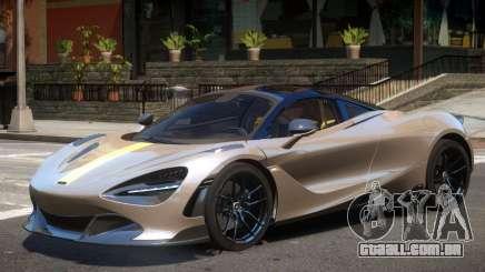 McLaren 720S V1 para GTA 4