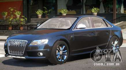 Audi S4 FBI para GTA 4