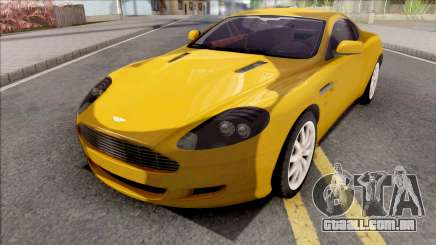 Aston Martin DB9 Full Tunable HQ Interior para GTA San Andreas