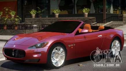 Maserati GranCabrio V1 para GTA 4