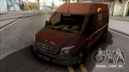 Mercedes-Benz Sprinter Van UPS para GTA San Andreas