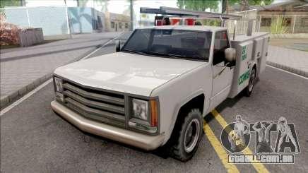 Utility Van CEMIG Energia MG para GTA San Andreas
