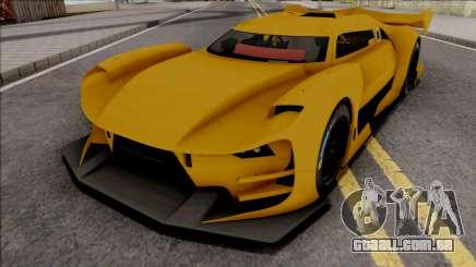 Citroen GT-LM IVF Style para GTA San Andreas