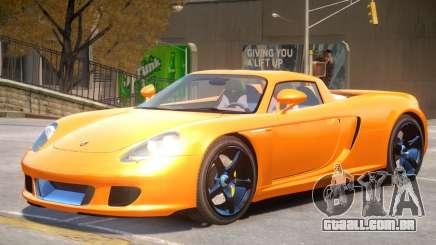 Porsche Carrera GT V1.0 para GTA 4