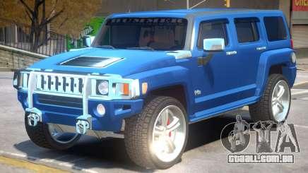 Hummer H3 V1.1 para GTA 4