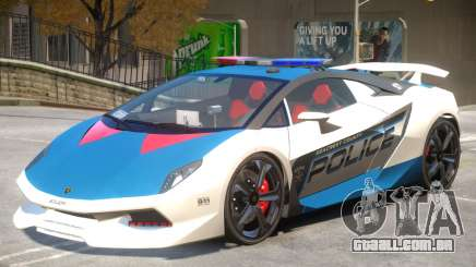 Lamborghini Sesto Police V1.4 para GTA 4