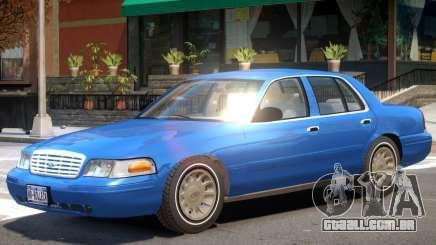 Ford Crown Victoria V1.1 para GTA 4