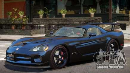 Dodge Viper SRT Y09 para GTA 4
