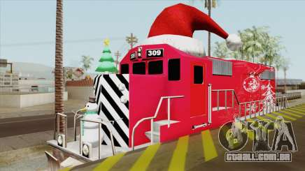 Christmas Train para GTA San Andreas