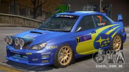 Subaru Impreza WRX V1 PJ7 para GTA 4