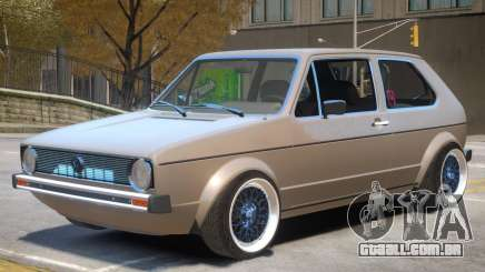 Volkswagen Golf Mk1 Stock para GTA 4