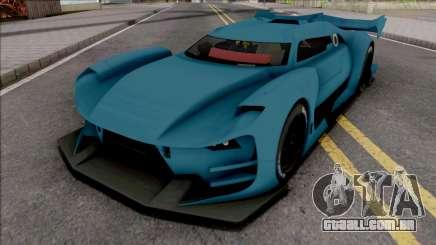 Citroen GT-LM SA Style para GTA San Andreas