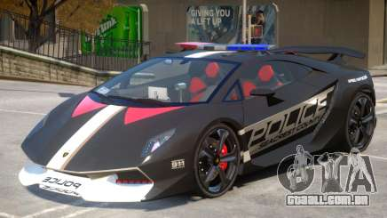 Lamborghini Sesto Police V1.3 para GTA 4