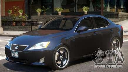 Lexus IS350 R2 para GTA 4