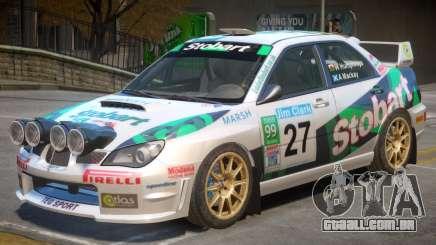 Subaru Impreza WRX V1 PJ8 para GTA 4