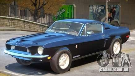 1968 Ford GT500 V1 para GTA 4