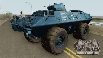 Cadillac V-100 Gage Commando (SAPD) para GTA San Andreas