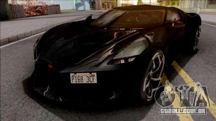 Bugatti La Voiture Noire 2019 Black para GTA San Andreas