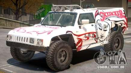 Hummer H3 V1 PJ3 para GTA 4