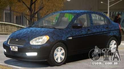 Hyundai Accent Stock para GTA 4