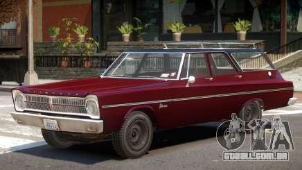 1965 Plymouth Belvedere R1 para GTA 4
