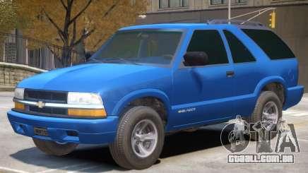 Chevrolet Blazer V1 R1 para GTA 4