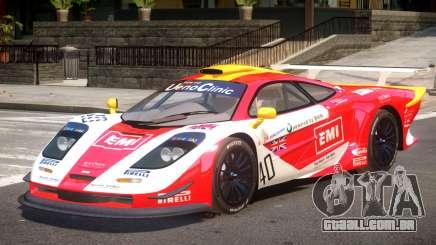 McLaren F1 V1.1 PJ1 para GTA 4